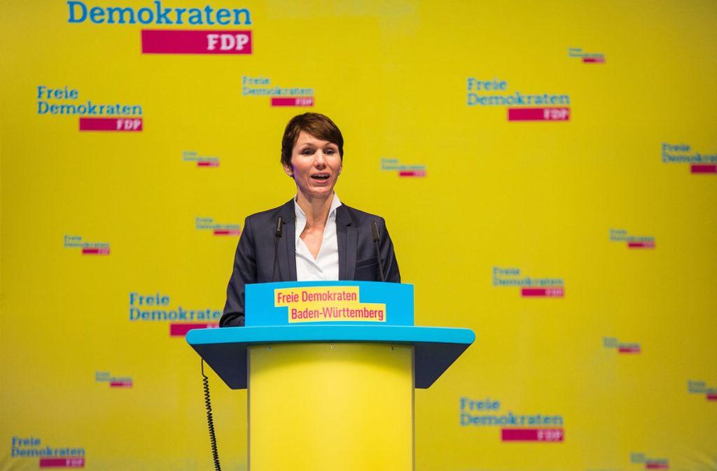 Die Bundestagsabgeordnete Judith Skudelny hat der FDP abgesagt: Sie steht nicht als OB-Kandidatin zur Verfügung. Foto: dpa/Christoph Schmidt