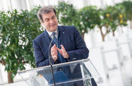 Bayerns Ministerpräsident sieht Chance für Osterurlaub