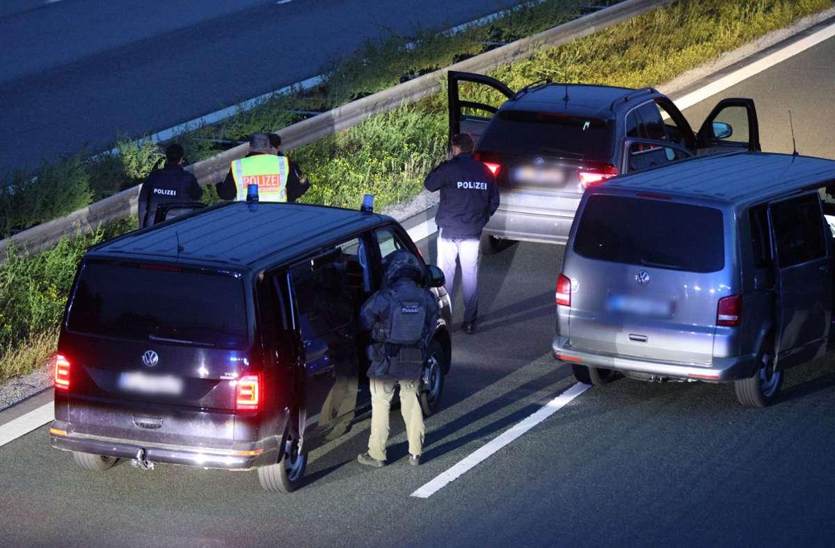 Der Tatverdächtige wurde  am Dienstagabend von der Polizei festgenommen. Foto: dpa/Ralph Goppelt