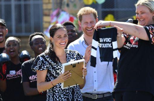 Harry und Meghan reisen mit Baby Archie