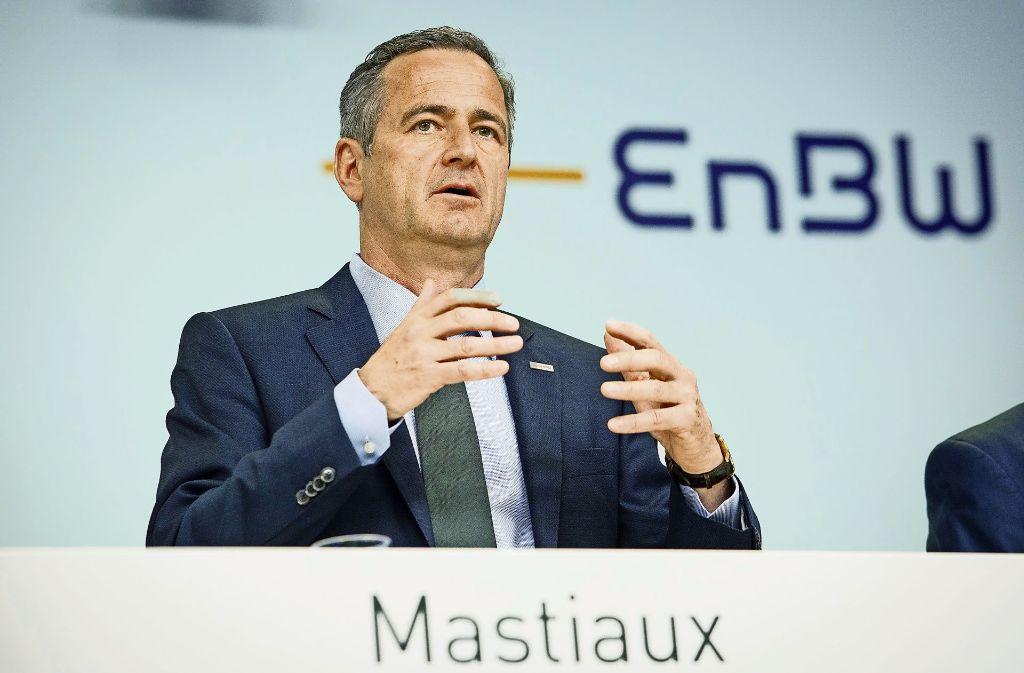 Vorstandschef Frank Mastiaux hat die EnBW-Belegschaft zum Gehaltsverzicht bewegt. Foto: dpa