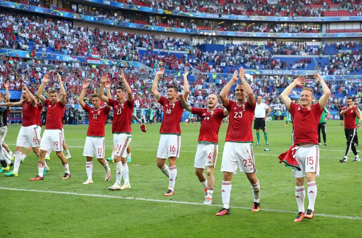 Ungarn trifft bei der EM 2021 auf Deutschland. Foto: imago/Newspix