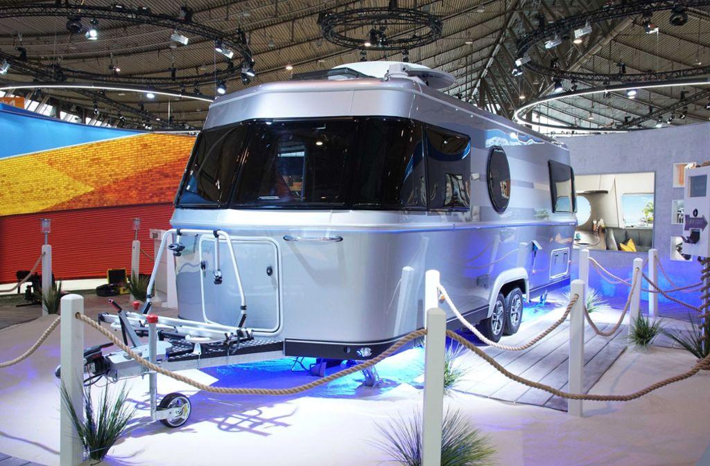 Auch Urlaube mit dem Wohnwagen liegen im Trend. Foto: Andreas Rosar
