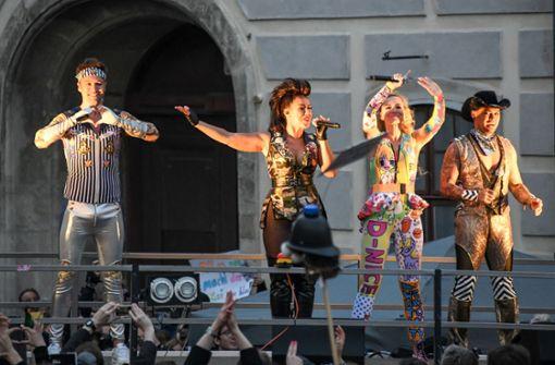 Tausende feiern mit Vengaboys in Wien