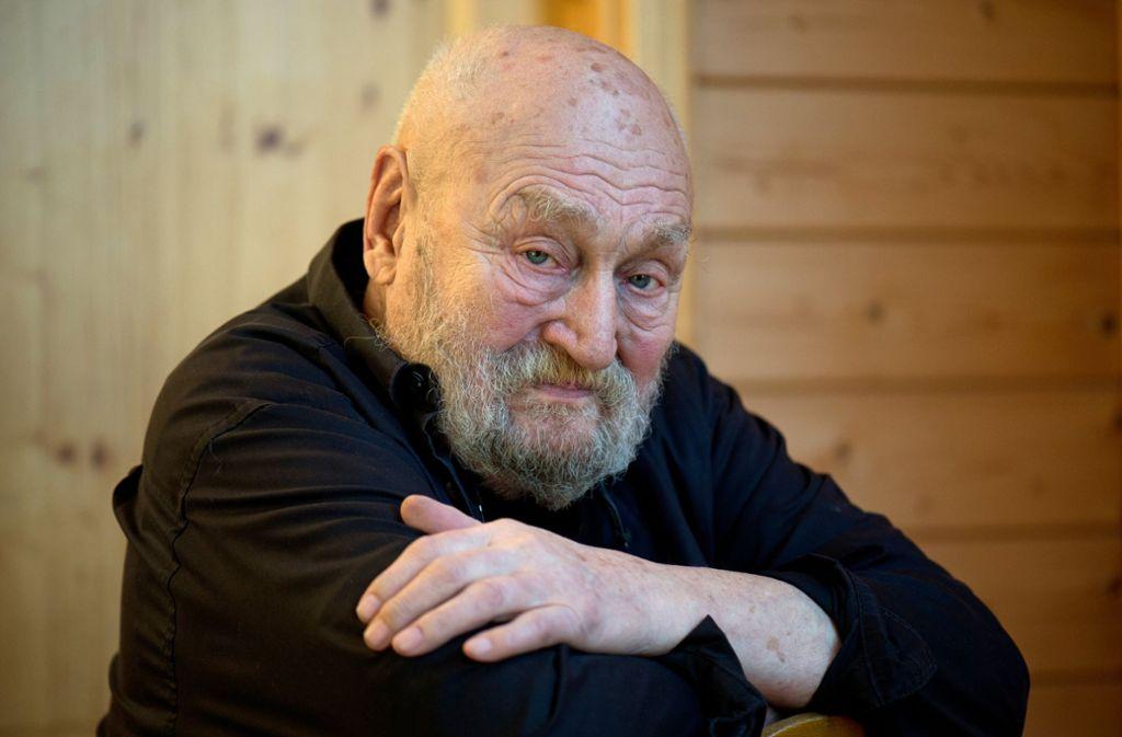 Rolf Hoppe ist tot. Foto: dpa-Zentralbild