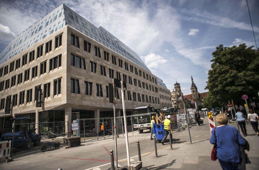 Das Dorotheen-Quartier wird am 30. Mai eröffnet. Foto: Lichtgut/Leif Piechowski