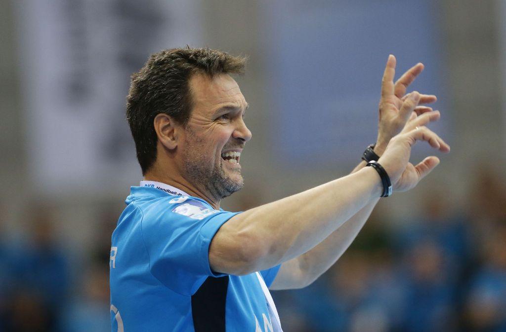 TVB-Stuttgart-Trainer Markus Bauer (Archivbild) Foto: Pressefoto Baumann