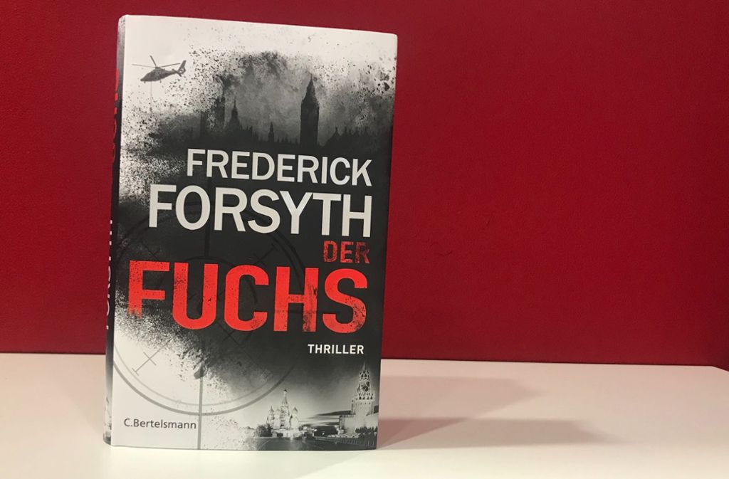 Frederick Forsyths neuer Thriller enttäuscht. Foto: Lukas Jenkner