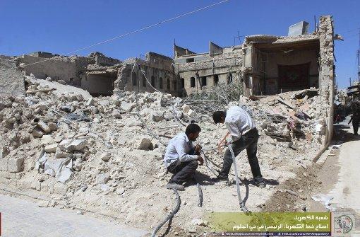Erneut schwere Kämpfe in Aleppo