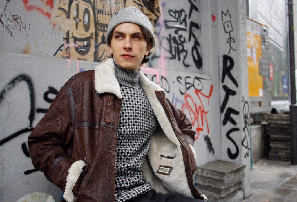 Der Stuttgarter David Bednarz erzählt uns als erster in der neuen Serie von seinem Stil… Foto: Nadja Dilger