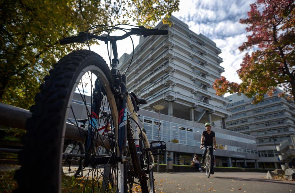 Wird der Campus der Uni Vaihingen bald autofreie Zone? Foto: Lichtgut/Max Kovalenko
