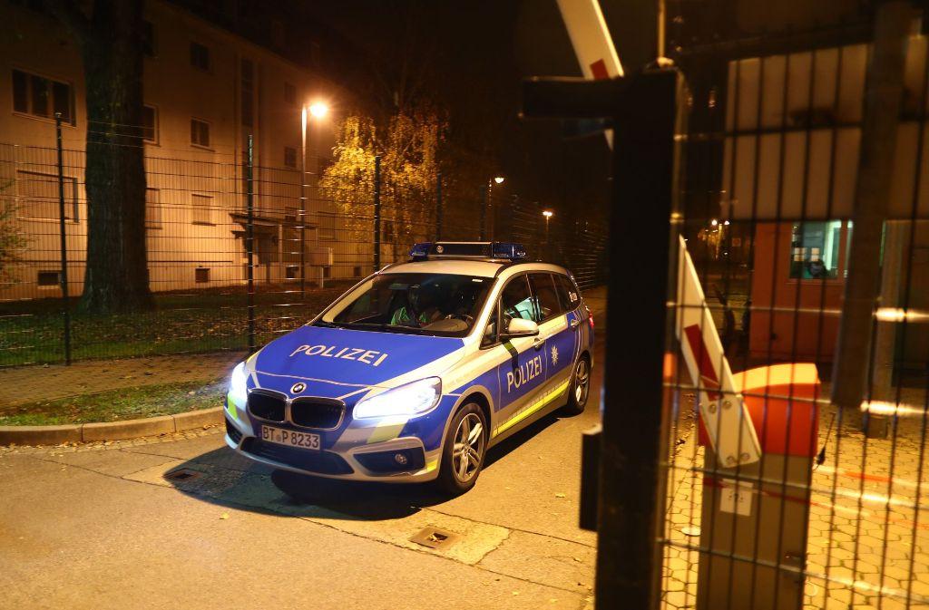 In der zentralen Aufnahmeeinrichtung für Asylbewerber in Bamberg hat es gebrannt. Foto: dpa