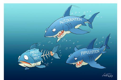 Karikaturist der Stuttgarter Zeitung erhält Auszeichnung