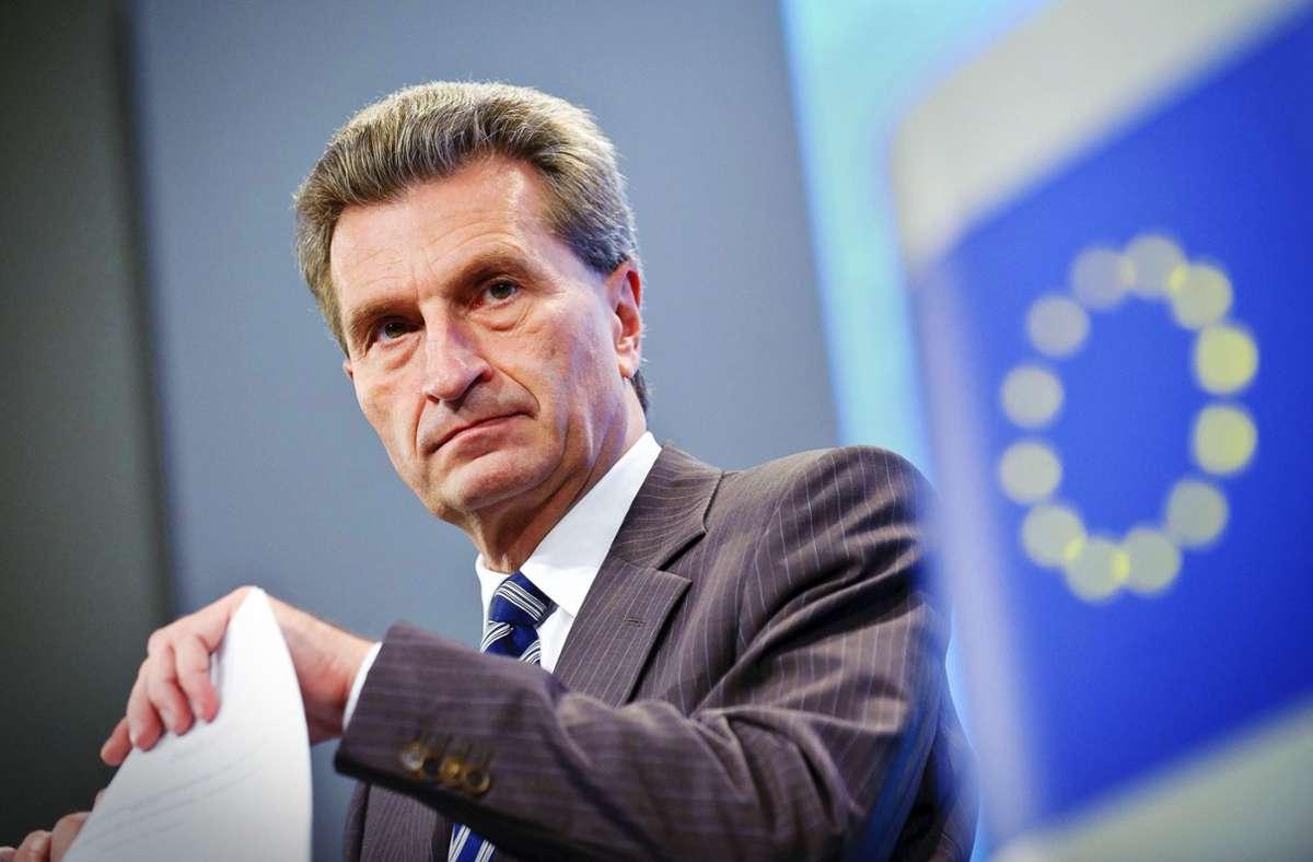 Vielbeschäftigt ist Günther Oettinger auch im Ruhestand. Foto: imago stock&people