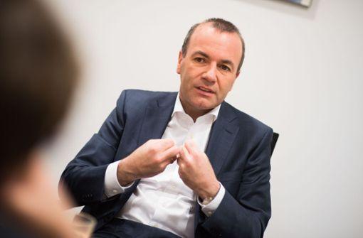 Unionskandidat rügt Berlins EU-Politik