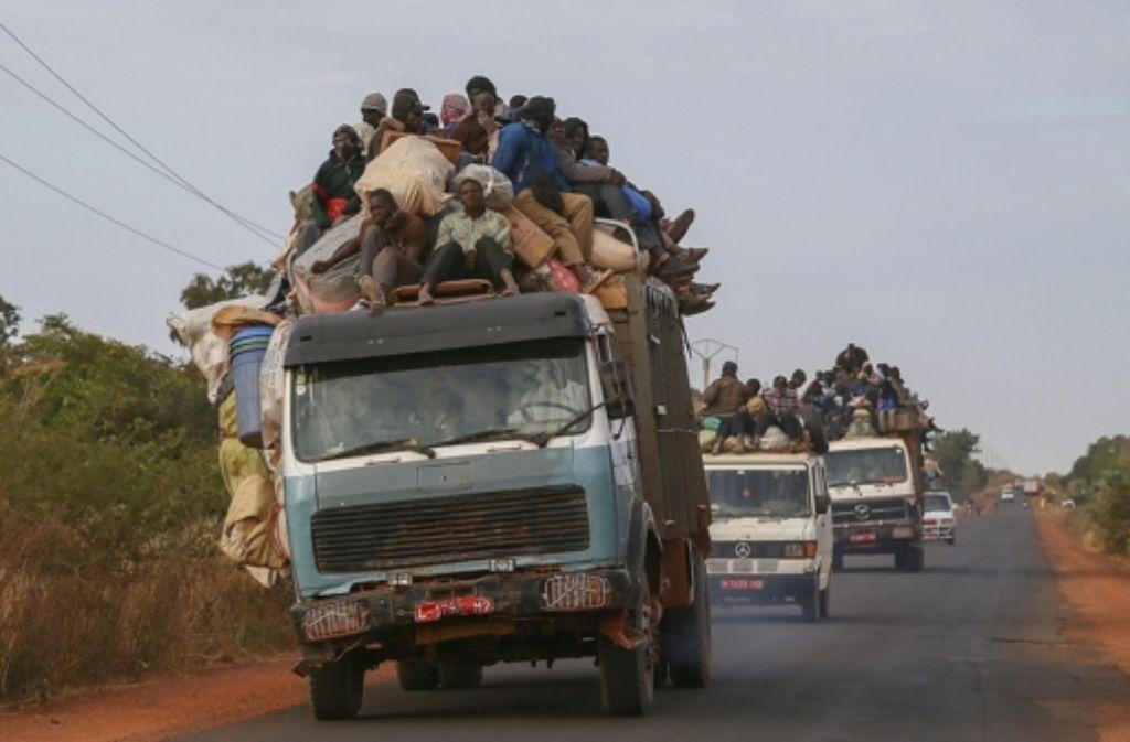 Mali ist ein armes Land – die Menschen der Hauptstadt sind fassungslos über die Geschichten der Gewalt. Foto: dpa