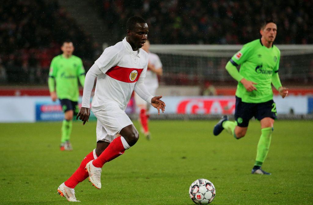 Chadrac Akolo kam spät in die Partie und bleibt daher ohne Bewertung.  Foto: Pressefoto Baumann