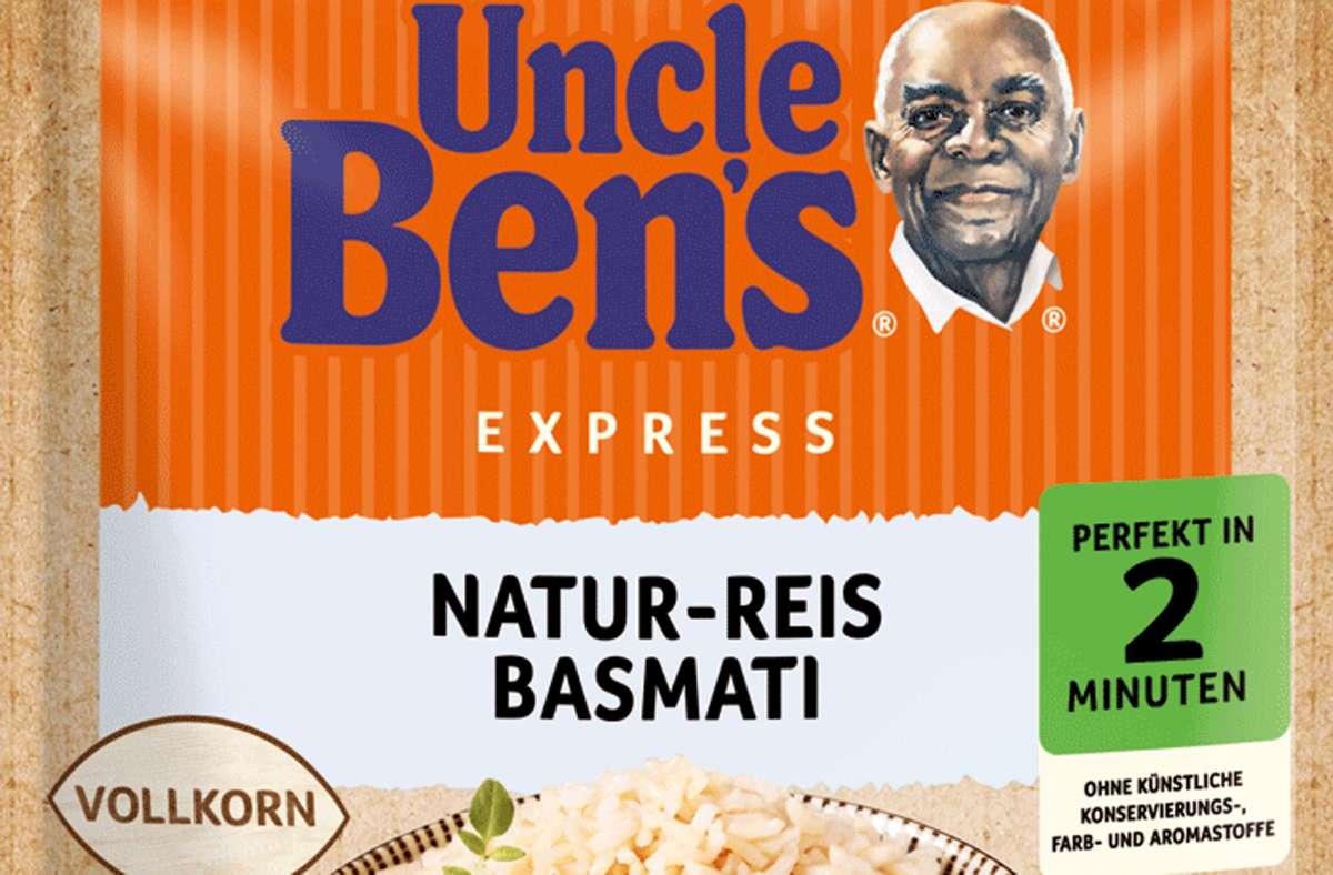 """Bestimmte Chargen des  """"Uncle Ben's Express Natur-Reis Basmati"""" werden zurückgerufen. Foto: Uncle Ben's"""