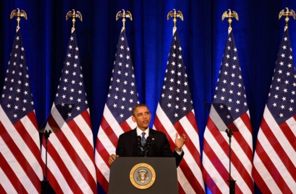 Barack Obama hat große Erwartungen geweckt – und viele enttäuscht. Nun muss er  gegen das Image eines durchschnittlichen Präsidenten ankämpfen. Foto: EPA