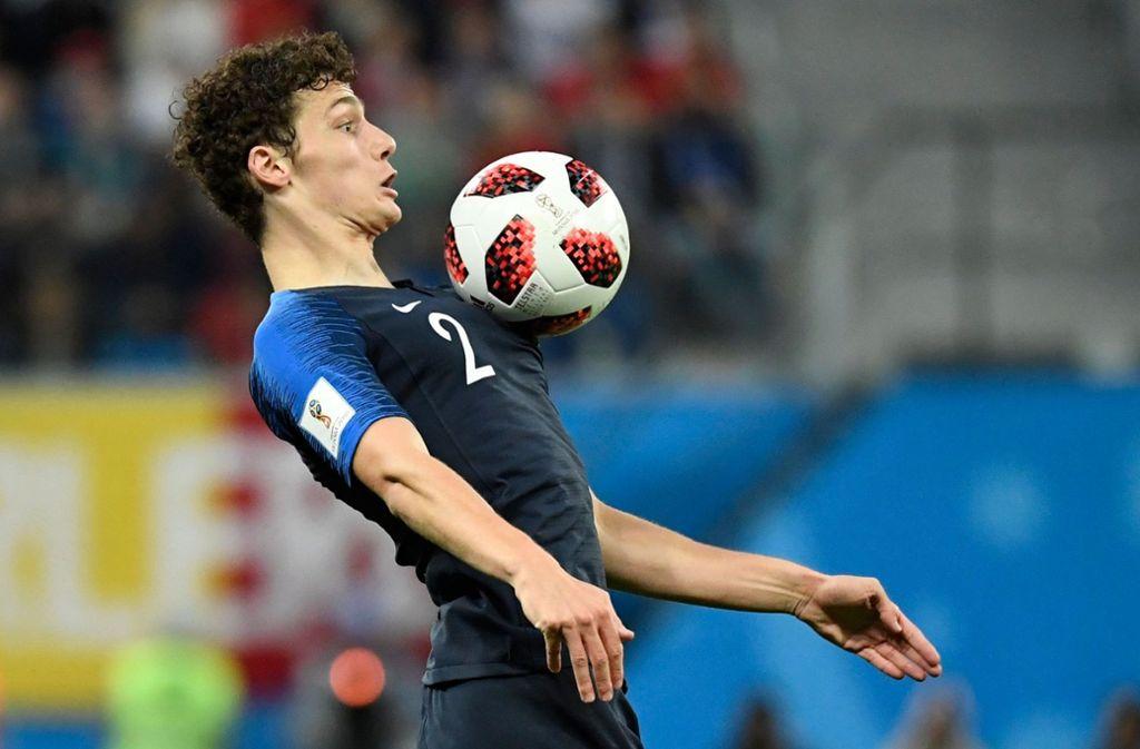 Die große Entdeckung der WM: Benjamin Pavard Foto: AFP