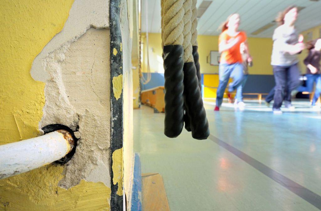 Baufällige Schulen machen Schüler aggressiver, meint der VBE. Foto: dpa