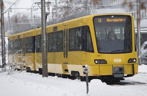 Auch mit dem neuen Stadtbahnmodell soll der Fahrgastzuwachs bewältigt werden. Die neue Bahn von innen zeigen wir Ihnen in der folgenden Fotostrecke. Foto: Steinert