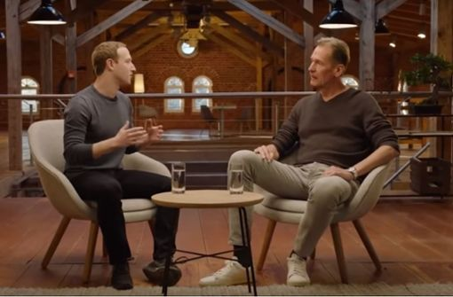 Mark Zuckerberg trifft den Springer-Chef
