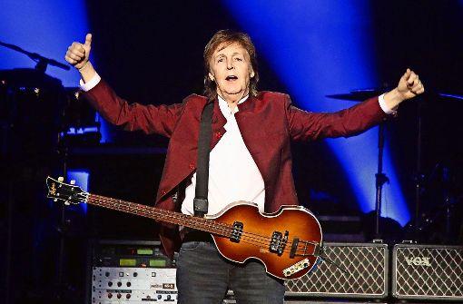 Paul McCartney wirbt für fleischlosen Montag