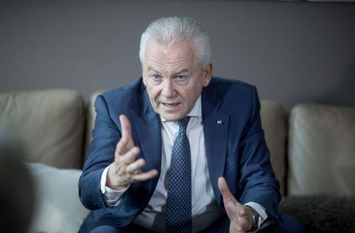 Bahnchef Rüdiger Grube tritt zurück