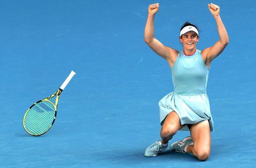 Jennifer Brady lebt ihren  Traum im Tennis