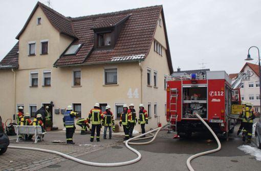 Überhitztes Ofenrohr führt zu Feuerwehreinsatz