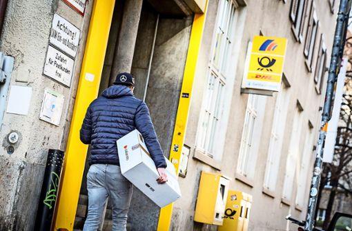 Die Stuttgarter und ihre Paketberge