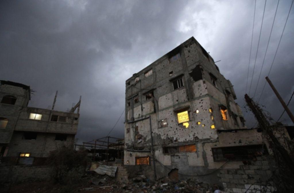 Israel schließt bis auf weiteres seine Grenze zum Gazastreifen - als Reaktion auf Beschüsse. Foto: dpa