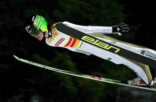 Kein Podestplatz für deutsche Skispringer