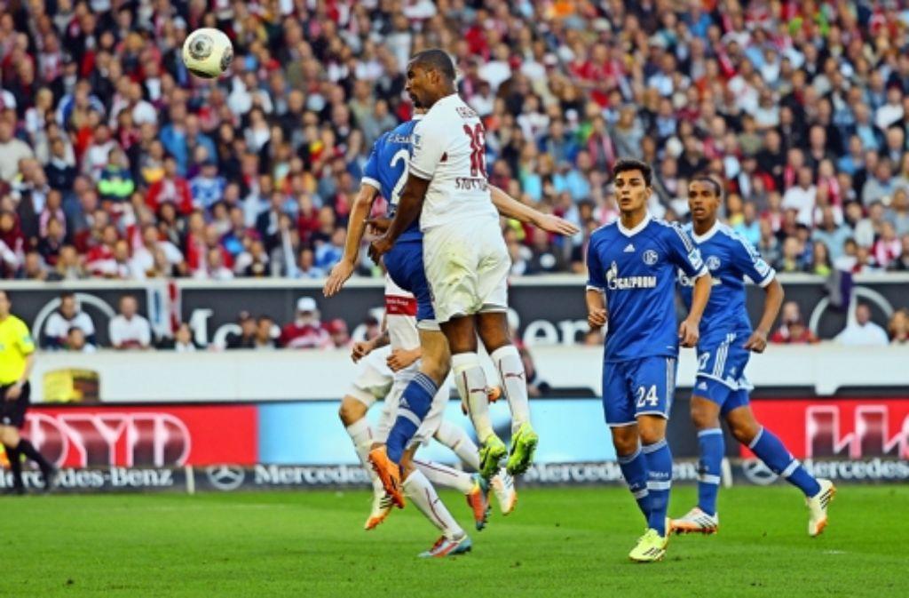 Auch dank des Tores von Cacau zum 2:0 hat der VfB gegen Schalke gewonnen. In unserer Bildergalerie geben wir einen Einblick in Cacaus Karriere. Foto: Baumann