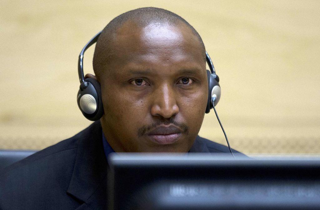 Scheinbar ungerührt verfolgt Bosco Ntaganda die Urteilsverkündung. Foto: AFP