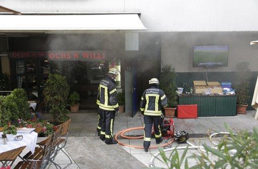 Brand im Ochs'n Willi – Gebäude evakuiert