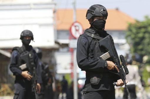 Vier Tote bei Angriff auf Polizeihauptquartier