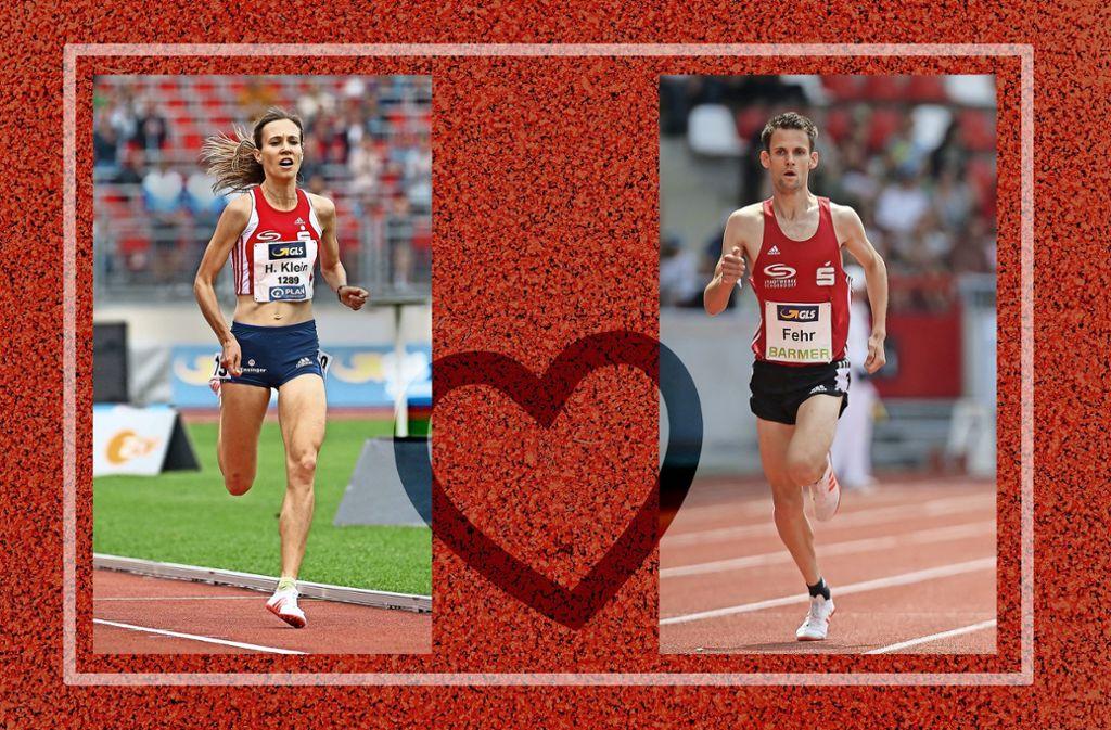 Beziehungsstatus: läuft – Hanna Klein und Marcel Fehr Foto: StZN