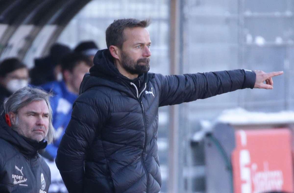 Michael Schiele ist nicht mehr Trainer des SV Sandhausen. Foto: Pressefoto Baumann/Hansjürgen Britsch