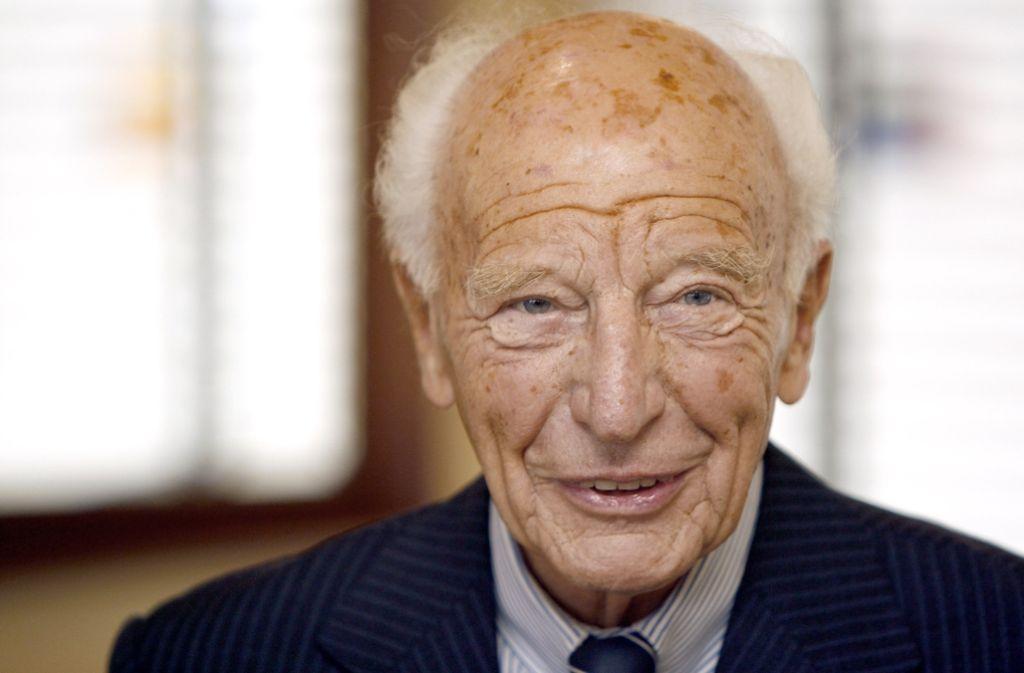 Walter Scheel war ab 1946 bei der FDP. Foto: AP