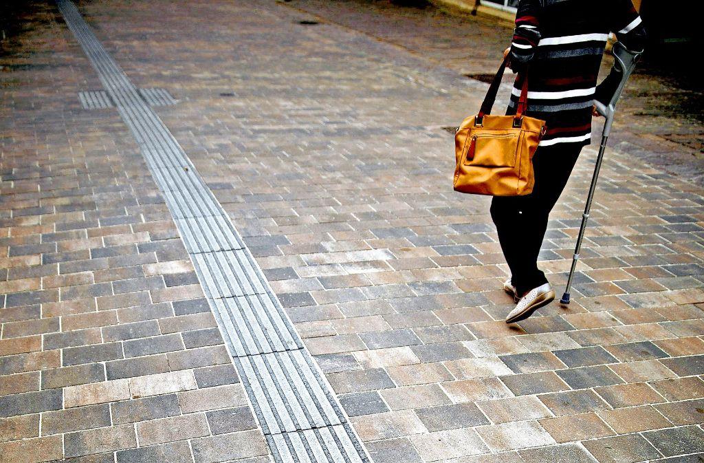 Seh- und Hörbehinderte sind in Winnenden überproportional unterwegs. Foto: Stoppel