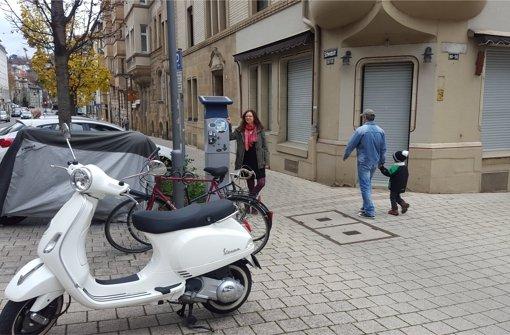 Stube statt Parkplatz