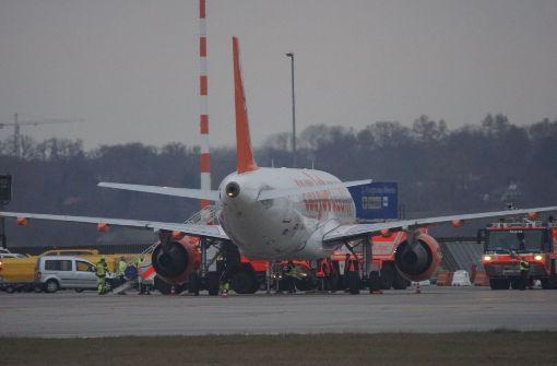Easyjet-Maschine muss wegen Luftnotlage landen