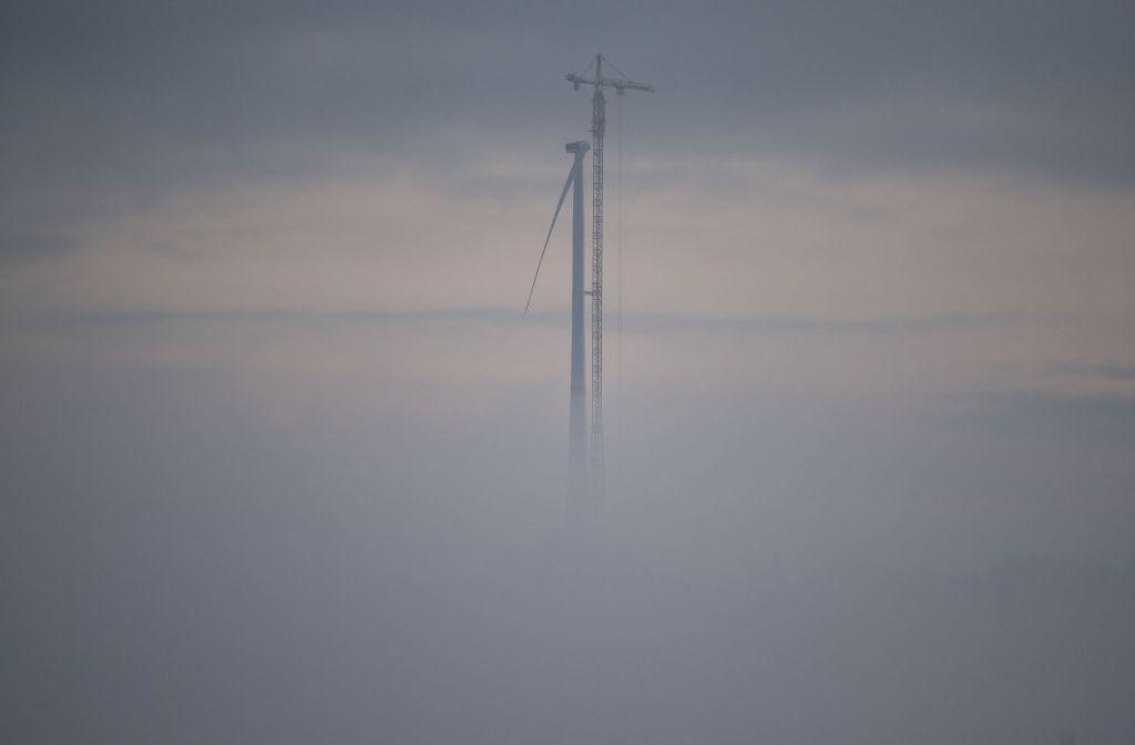 In Gaildorf steht fortan die weltweit höchste Windkraft-Anlage. Foto: dpa