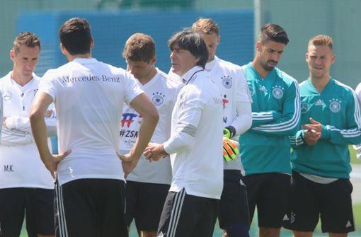 Nationalmannschaft trainiert erstmals in Watutinki