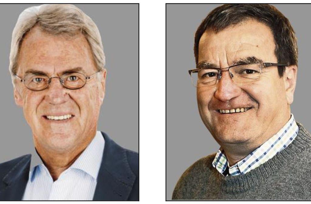 Bernhard Maier  und Hans-Josef Straub melden sich zu Wort. Foto: privat