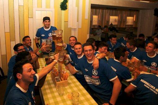 Stuttgarter Kickers auf dem Frühlingsfest