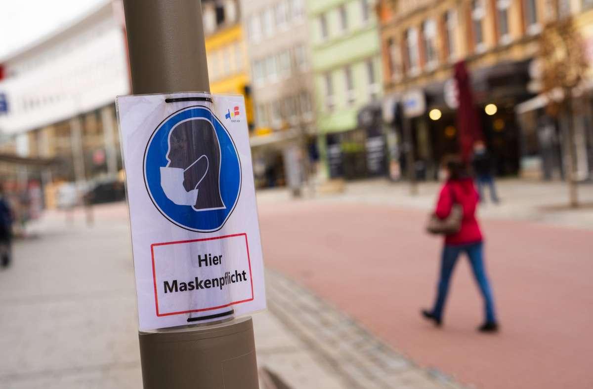 Die Inzidenz ist in Deutschland erneut gestiegen. Foto: dpa/Nicolas Armer