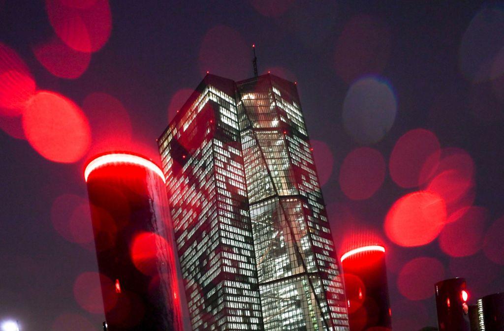 Zu viel Macht bei der EZB? Die Verfassungsrichter sagen: noch nicht. Foto: dpa